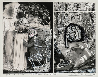 """Joel-Peter Witkin, 'Study for """"Thoraxic Park""""', 2002"""