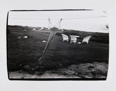 Andy Warhol, 'Andy Warhol, Woman's Brassier and Stockings on Clothesline in Montauk'