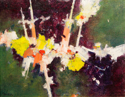 Charles Green Shaw, 'Night Blossom', 1958