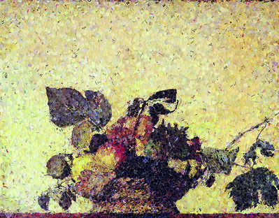 Vik Muniz, 'Still Life with a Bouquet of Fruits, after Caravaggio', 2006