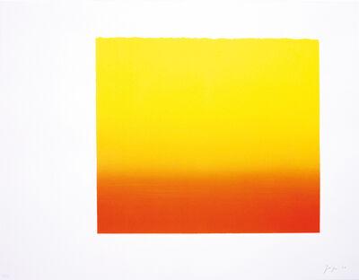 Rupprecht Geiger, 'Düsseldorfer Rot (Gelb)', 2003