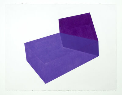 Brant Ritter, 'Accidental Happiness, Purple + Purple', 2017