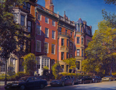 Joel Babb, 'Quiet Afternoon, Back Bay, Boston', 2016