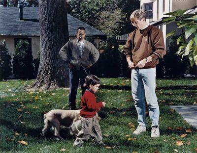 Tina Barney, 'The Puppy', 1994/2004