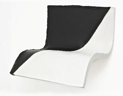 Eduardo Costa, 'Black & White transversal soft Painting', 2008