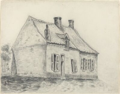 Vincent van Gogh, 'The Magrot House, Cuesmes', ca. 1879/1880