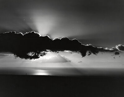 Brett Weston, 'Untitled (Water and Clouds, Hawaii)', ca. 1985