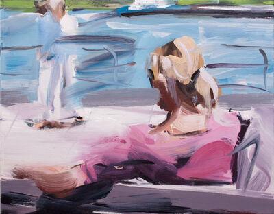 Alireza Varzandeh, 'Am Rhein I', 2019