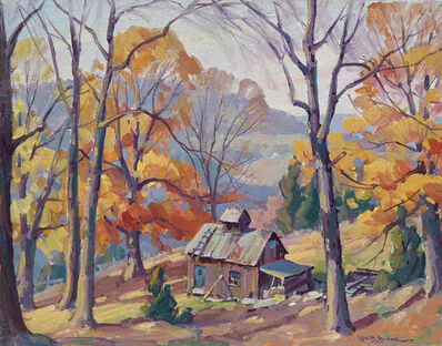Leo Blake, 'New England Autumn', ca. c.1935