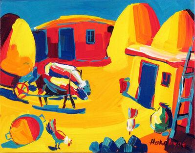 Harout Hakobyan, 'Hay Cart', ca. 2000
