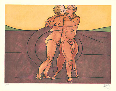 Valerio Adami, 'Métamorphose', 1982