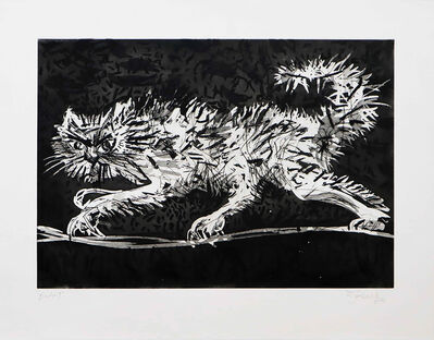 William Kentridge, 'Another Cat', 2020