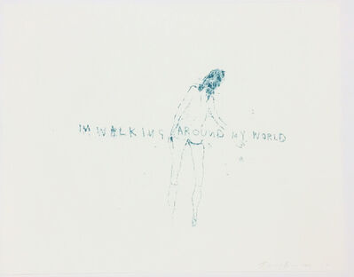 Tracey Emin, 'I'm Walking Around My World', 2011
