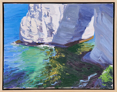 Diane Burko, 'Untitled (Stone Outcropping in Water)'