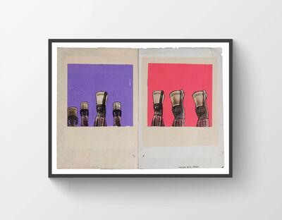 Dan Eldon, 'Refugee Girls Malawi', 1990