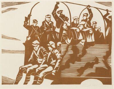 Christopher Richard Wynne Nevinson, 'MT (Motor Transport) (Black 43)', 1918