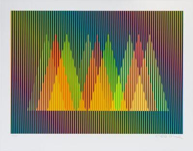Carlos Cruz-Diez, 'Serie Cardíaca Triángulo 1', 2015