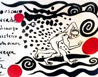 Alexander Calder, 'Lo Oscuro Inveda-Darkness Invades', 1970
