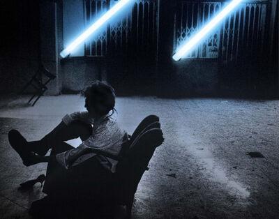 """Silvia Lelli, 'Neon collection / Neon installation, I.C, R.C., Il Carrozzone, """"Rapporto Confidenziale""""', 1978"""