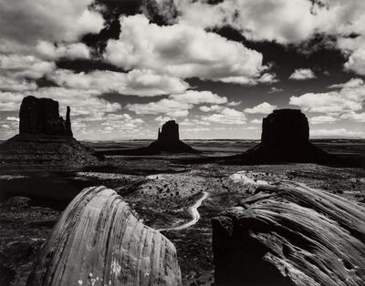 Brett Weston, 'Monument Valley', 1969