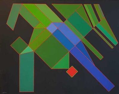 Achille Perilli, 'Il mistero buffo', 2007