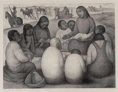 Diego Rivera, 'Open Air School', 1932