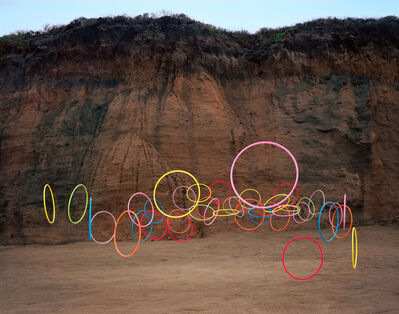 Thomas Jackson (b.1971), 'Hula Hoops no. 2, Montara, California', 2016