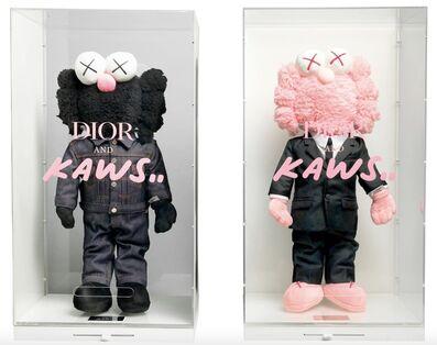 KAWS, 'Plush BFF x Dior (Black and Pink)', 2019