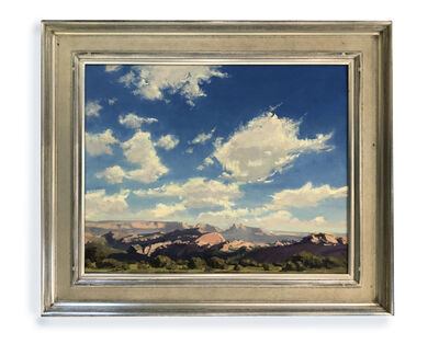 Kate Starling, 'Lee Valley Sky (Skyscape, clouds, mountains)', 2020