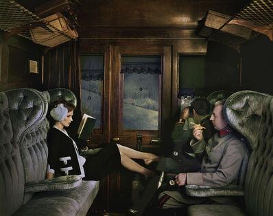 Melvin Sokolsky, 'Parker Train, New York', 1962