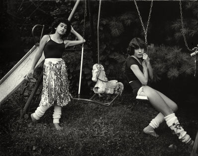 """Sally Mann, 'Untitled from the """"At Twelve"""" Series, Debbie and Becky on Swing Set', 1983-1985"""