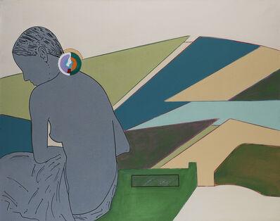 """Renato Mambor, '""""Cambiar pelle - Silvia""""', 2008"""