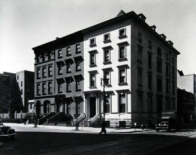"""Berenice Abbott, 'Fifth Avenue Houses #4, 6 and 8 (from the series """"Changing New York"""")', 1936"""