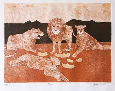 Julian Trevelyan, 'Lions', 1966-1967