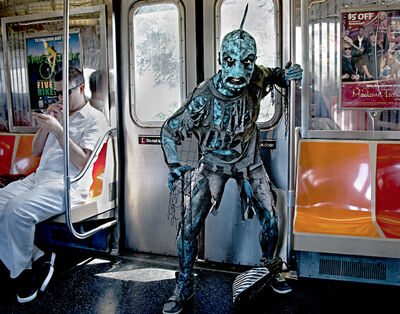 Neil O. Lawner, 'The Monster On The Train'