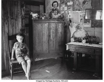 Walker Evans, 'West Virginia Living Room', 1953