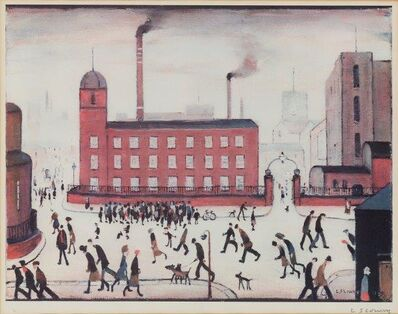 Laurence Stephen Lowry, 'Mill Scene'