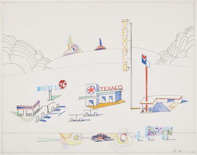 Saul Steinberg, 'Untitled', 1986