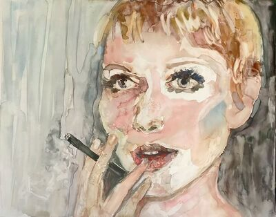 """Patty Rooney, '""""I'm going to take the high road because the low road is so crowded."""" -- Mia Farrow', 2017"""