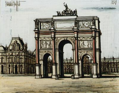 Bernard Buffet, 'Le carrousel du Louvre', 1989