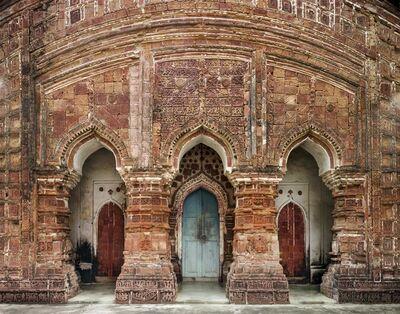 Laura McPhee, 'Three Portals of the Terra Cotta Rajeswari, Shiva Temple, Built Circa 1728, Dwarhatta, West Bengal 3/5'