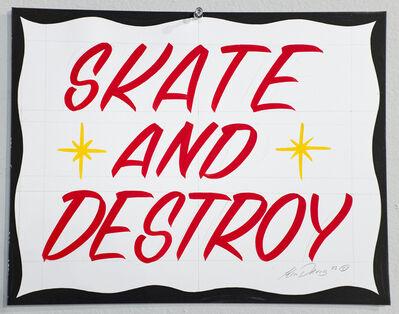 Ken Davis, 'Skate and Destroy', 2015