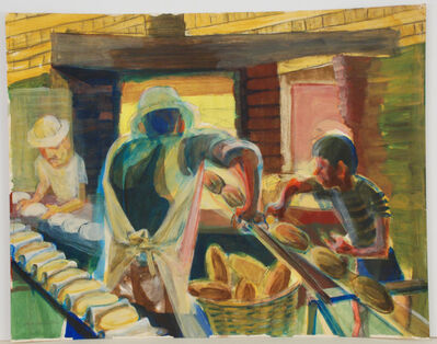 Charles Keller, 'Bakery in Mexico', 1987