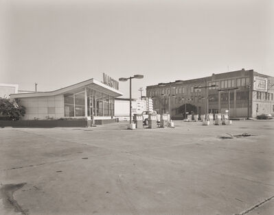 E.F. Kitchen, 'Martin Gas Station & Texas Wagon Works', 1986