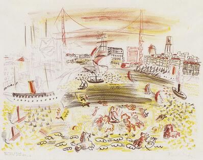 Raoul Dufy, 'Cortege d'Amphitrite (Le Vieux Port de Marseille).', 1921