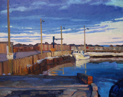 Réjean Roy, 'Premier bateau', 2019