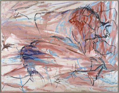 Elaine de Kooning, 'Desert Wall, Cave #96', 1986