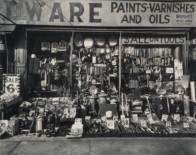 Berenice Abbott, 'Hardware Store, 316-318 Bowery, Manhattan'