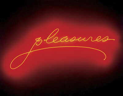 Sylvie Fleury, 'pleasures', 2001