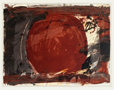 Antoni Tàpies, 'Red Mirror', 1982